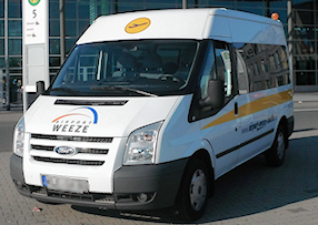 airport weeze shuttle